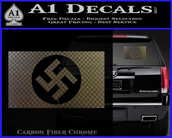 Nazi Flag Swastika Decal Sticker » A1 Decals