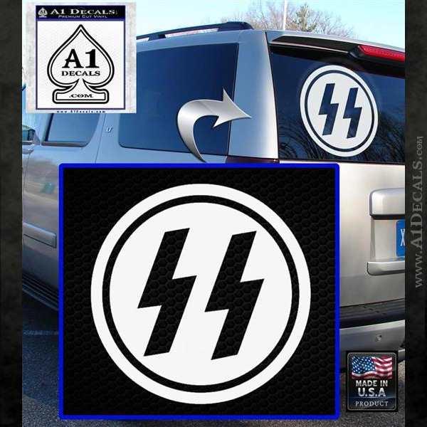 Nazi Ss Decal Sticker Dh 187 A1 Decals