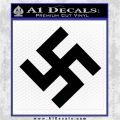 Nazi Swastika Decal Sticker D0 Black Logo Emblem 120x120