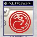 Red Mana Symbol Decal Sticker MTG Magic Red Vinyl 120x120