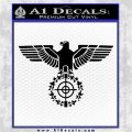 Sniper Eagle WW2 German Germany Army Decal Sticker Black Logo Emblem 120x120