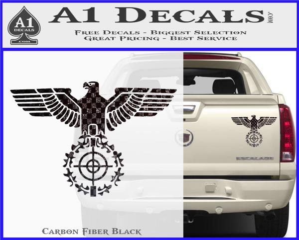 Sniper Eagle Ww2 German Germany Army Decal Sticker 187 A1 Decals