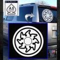 White Mana Symbol Decal Sticker MTG Magic White Emblem 120x120