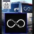 blue lives matter infinity symbol White Emblem 120x120