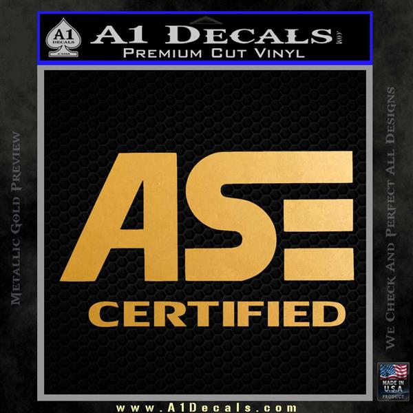 Ase Certified Mechanic St Decal Sticker A1 Decals