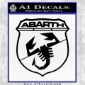 Abarath Logo Decal Sticker Black Logo Emblem 120x120