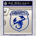 Abarath Logo Decal Sticker Blue Vinyl 120x120