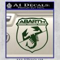 Abarath Logo Decal Sticker Dark Green Vinyl 120x120