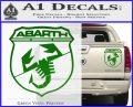Abarath Logo Decal Sticker Green Vinyl 120x97