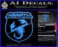 Abarath Logo Decal Sticker Light Blue Vinyl 120x97