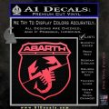 Abarath Logo Decal Sticker Pink Vinyl Emblem 120x120