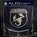 Abarath Logo Decal Sticker Silver Vinyl 120x120