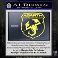 Abarath Logo Decal Sticker Yelllow Vinyl 120x120