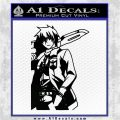 Akame Ga Kill Wave Anime Decal Sticker Black Logo Emblem 120x120