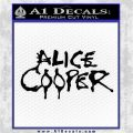 Alice Cooper Decal Sticker TX1 Black Logo Emblem 120x120