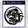 Aliens Movie CR Decal Sticker Black Logo Emblem 120x120