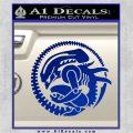 Aliens Movie CR Decal Sticker Blue Vinyl 120x120