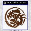 Aliens Movie CR Decal Sticker Brown Vinyl 120x120