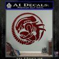 Aliens Movie CR Decal Sticker Dark Red Vinyl 120x120