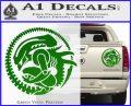 Aliens Movie CR Decal Sticker Green Vinyl 120x97