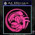 Aliens Movie CR Decal Sticker Hot Pink Vinyl 120x120