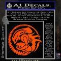 Aliens Movie CR Decal Sticker Orange Vinyl Emblem 120x120