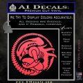 Aliens Movie CR Decal Sticker Pink Vinyl Emblem 120x120