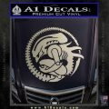 Aliens Movie CR Decal Sticker Silver Vinyl 120x120