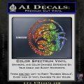 Aliens Movie CR Decal Sticker Sparkle Glitter Vinyl 120x120