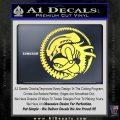 Aliens Movie CR Decal Sticker Yelllow Vinyl 120x120