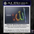 Allah Muslim Symbol Decal Sticker Sparkle Glitter Vinyl 120x120