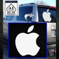 Apple Logo Original Decal Sticker White Emblem 120x120