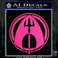 Aquaman CR DLB Decal Sticker Hot Pink Vinyl 120x120