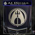Aquaman CR DLB Decal Sticker Silver Vinyl 120x120