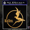 Arpeggio Of Blue Steel Anime Decal Sticker Metallic Gold Vinyl 120x120