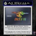 Baldly Go USS Enterprise Decal Sticker Sparkle Glitter Vinyl 120x120