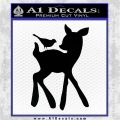 Bambi Decal Sticker D2 Black Logo Emblem 120x120
