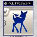 Bambi Decal Sticker D2 Blue Vinyl 120x120