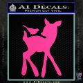 Bambi Decal Sticker D2 Hot Pink Vinyl 120x120