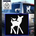 Bambi Decal Sticker D2 White Emblem 120x120