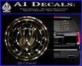 Battlestar Galactica CR6 Decal Sticker BSG 3dc 120x97