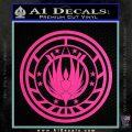 Battlestar Galactica CR6 Decal Sticker BSG Hot Pink Vinyl 120x120