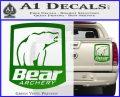 Bear Archery Logo Decal Sticker Badge Green Vinyl 120x97