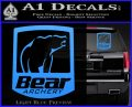 Bear Archery Logo Decal Sticker Badge Light Blue Vinyl 120x97