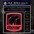 Bear Archery Logo Decal Sticker Badge Pink Vinyl Emblem 120x120