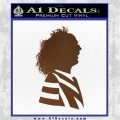 Beetlejuice Decal Sticker D2 Brown Vinyl 120x120