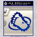 Bigfoot OV1 Decal Sticker Blue Vinyl 120x120