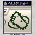 Bigfoot OV1 Decal Sticker Dark Green Vinyl 120x120