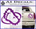 Bigfoot OV1 Decal Sticker Purple Vinyl 120x97