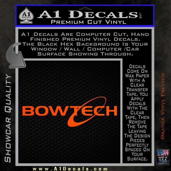 Bowtech Archer Decal Sticker Logo  A Decals - Bowtech custom vinyl decals for trucks